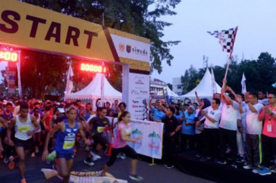 Depok 10K Wujud Implementasi Program Smart Healthy City